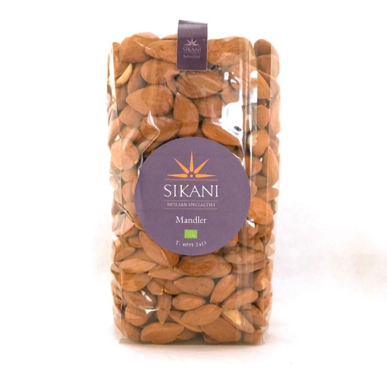 Økologiske mandler fra Sicilien