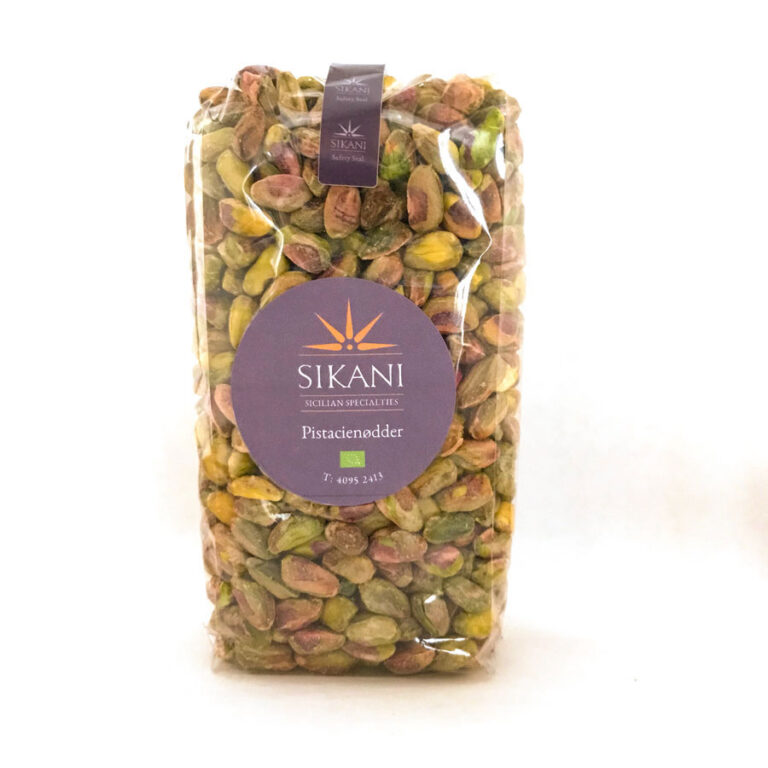 Økologiske pistacienødder