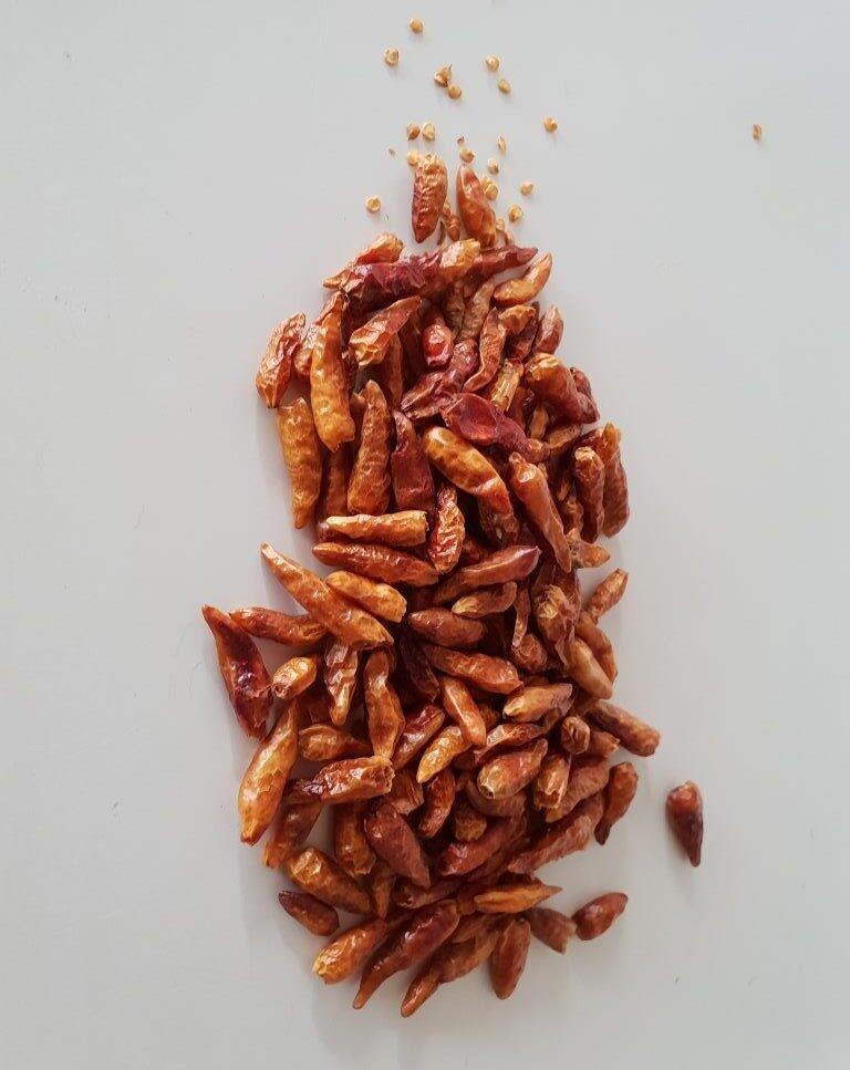 Økologisk tørret chili (piccante piccolo)