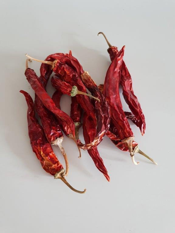 Økologisk tørret chili (Peperoncino)