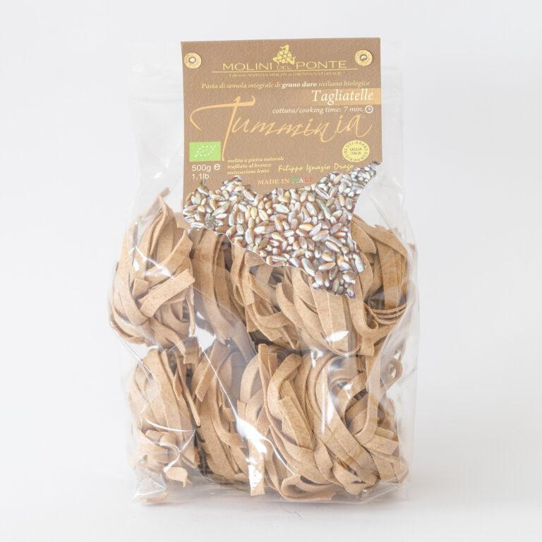 Økologisk pasta – tagliatelle Tumminia