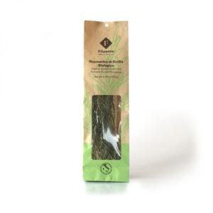 Økologiske tørret rosmarin på stilk fra Sicilien. SIKANI